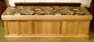 Large cedar chest: Tom Daily size (named after the man who encouraged us to make it)